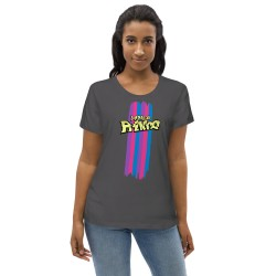 Enganliegendes Öko-T-Shirt...